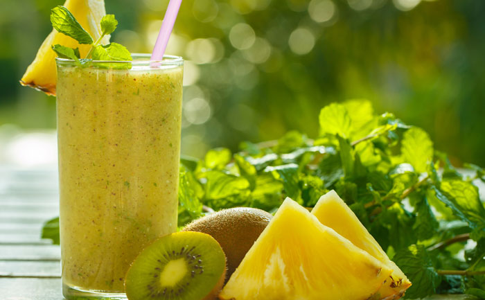 les jus de fruits detox